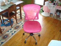 Brenton Studio® Mesh Mid-Back Chair, Pink/Black High Quality Like New! in Brookfield, Wisconsin
