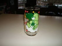1986 dated promo vintage Care Bears GOOD LUCK BEAR Glass St. Patrick's in Brookfield, Wisconsin