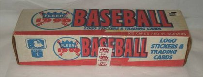 1990 FLEER Baseball Cards - Complete Set - Factory Sealed in Philadelphia, Pennsylvania
