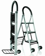 New! LADDERKART by Conair 2-in-1 STEP LADDER / Hand Truck in Bolingbrook, Illinois
