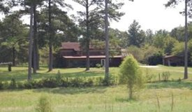 On five acres close to Fort Polk in Leesville, Louisiana