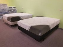 "BRAND NEW! 10"" FIRM & 12"" PLUSH - HYBRID Gel / Memory Foam Mattresses in Chicago, Illinois"
