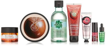 NEW The Body Shop 40 years of the body shop & best iconic collection gift set new in Houston, Texas