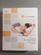 NEW intellinetix vibrating pain relief mask and eye pillow for headache migraine new in Houston, Texas