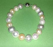 Natural Pearl Bracelet ~ Magnetic Clasp in Batavia, Illinois