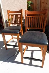 Mission Style Bar Stools, Set of 2 in Vacaville, California