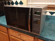 Emerson 1.2 cubic ft microwave with grill in Lockport, Illinois
