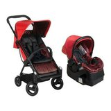 I cco acrobat stroller and iguard 35 infant car seat , fishbone red in Roanoke, Virginia