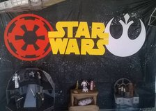 Star Wars decorations in Aurora, Illinois