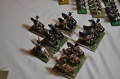 200 hand painted metal soldiers. great for dioramas and reenactments. in Houston, Texas