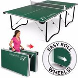 EastPoint 15 mm Fold N Store Table Tennis Ping Pong Table - NEW! in Bolingbrook, Illinois