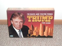 NEW Sealed TRUMP the Game DISCONTINUED Parker Brothers 2004 I'm Back Your Fired in Chicago, Illinois