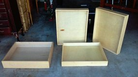LARGE WOOD DRAWERS FOR PROJECTS in Chicago, Illinois