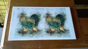 VINTAGE ROOSTER TILE in Joliet, Illinois