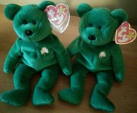 New Ty Beanie Baby Erin Green Shamrock St. Patrick's Day Irish Bear in Lockport, Illinois