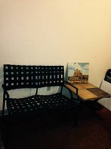Patio Bench Seat set and side table in Vacaville, California