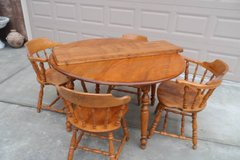 Vintage 7-Pc Solid Wood Dining Set in Vacaville, California