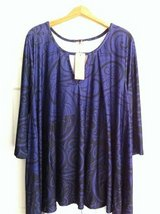 BNWT Tunic Top/Dress sz 1x 16W in Glendale Heights, Illinois