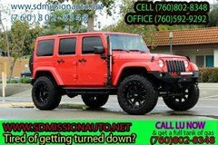 2013 Jeep Wrangler Unlimited Sahara Ask for Louis (760) 802-8348 in Oceanside, California