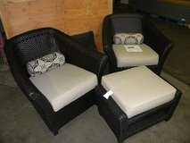 Patio Chairs and ottoman in Minneapolis, Minnesota