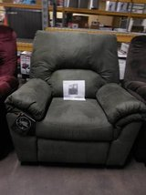 Ashley's Benjamin Rocker Recliner Sage in Minneapolis, Minnesota