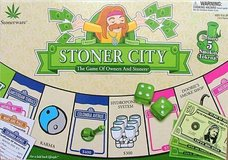 NEW Sealed RARE Vintage 2005 Stoner City Board Game by Stonerwar (DISCONTINUED) in Joliet, Illinois