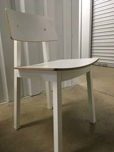 MCM Style White Chairs in Joliet, Illinois