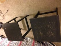 2 small square side tables in Sacramento, California