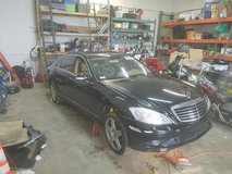 ((( PARTING OUT ))) A 2007 Mercedes Benz S550 4MATIC in Chicago, Illinois