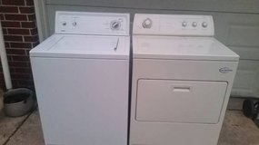 Electric washer and dryer in Baytown, Texas