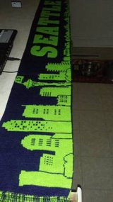 Seahawks scarf in Fort Lewis, Washington