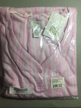 NEW karen neuburger 3/4 sleeve henley nightshirt size 2xl xxl pink stripe new in Kingwood, Texas