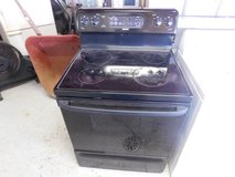 Hotpoint Black Electric Stove in Fort Riley, Kansas