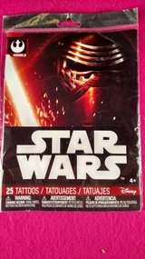 Star Wars Rebels 25 Temporary Tattoos (T=40/1) in Fort Campbell, Kentucky