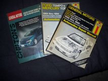 3 auto manuals 82-96 in Shorewood, Illinois