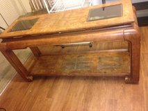 Large Solid Wood Vintage behind the sofa or buffet table in Travis AFB, California