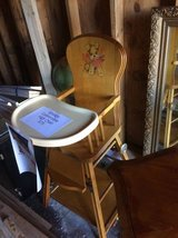 Reduced..Vintage Childs High Chair / Play Desk in Naperville, Illinois