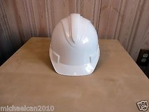 safety charger white hard hat cap helmet adjustable in Bolingbrook, Illinois