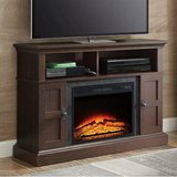 Whalen Media Electric Fireplace TV Stand (Dark Cherry) - NEW! in Naperville, Illinois
