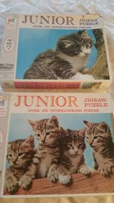1968 Vintage Milton Bradley Junior Jigsaw puzzles in Temecula, California