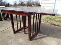 Table*Vintage*Folding*All Wood*Red Mahogany**Lower Price in Fort Leonard Wood, Missouri