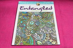adult coloring book entangled creative haven in Kingwood, Texas