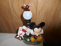 "New Disney MICKEY MOUSE Solar Powered Garden Statue      10"" Tall    Mint with tags!   Chec... in Kingwood, Texas"