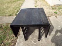 Table*Folding*Vintage*Solid Wood*Needs Re Stain in Rolla, Missouri