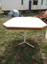 Table*Heavy Duty*Steel Legs*Has Leaf in Rolla, Missouri