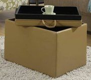 Convenience Concepts Storage Ottomans (Tan or Ivory) -  NEW! in Chicago, Illinois
