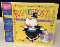 NEW Book & CD Childrens Rhinoceros Tap: 15 Seriously Silly Songs Hard Cover in Chicago, Illinois