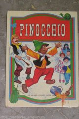 RARE Vintage 1980 Pinocchio Childrens Hard Cover Book Classic Tale in Yorkville, Illinois