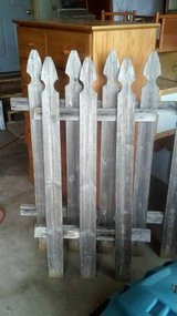 2 SECTIONS OF RECLAIMED WOOD FENCE in Aurora, Illinois
