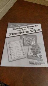 Numbers Charts and Games Teaching Tips Paperback -- 1995 in Clarksville, Tennessee